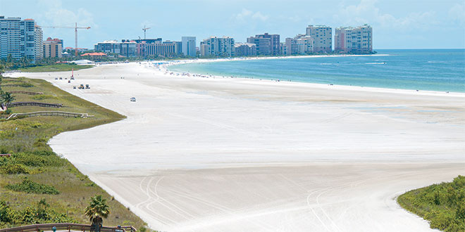 "Central Beach looks wide and pristine, like it just had a ""facelift."" Submitted Photos"