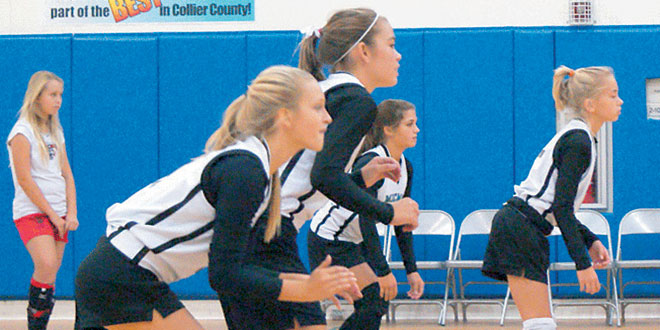 MICMS girls varsity volleyball Submitted Photo