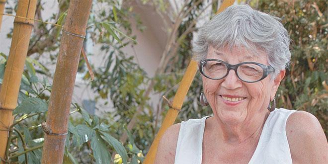 Photos by Maria LambCalusa Garden Club founder Eva Schliesser still active, tends to her native plants.