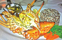 Florida lobster caught in the Keys and cooked at a local restaurant. Submitted Photos