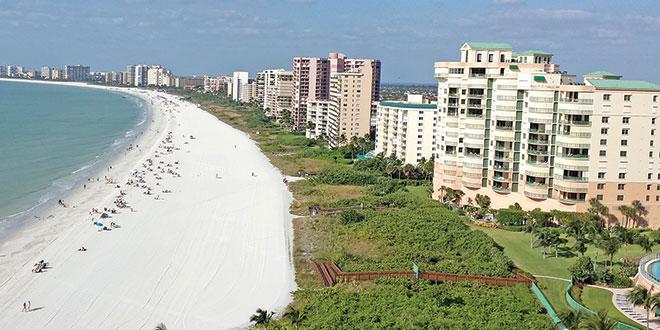 Condos along the beach. Photos by Gary Elliott