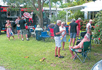The Porsche Club had a good turnout for its Summer Party in Goodland.