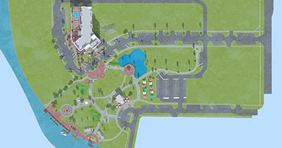Site plan. Submitted