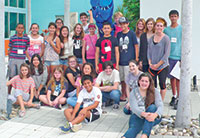 Participants from the Marco Island Center for the Arts 2015 Young Artists Academy. Submitted Photos