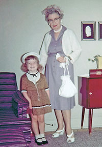 Ganny and Maureen, early 1960s