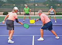 Pickleball foursome. Submitted Photos