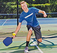 Pickleball Volley