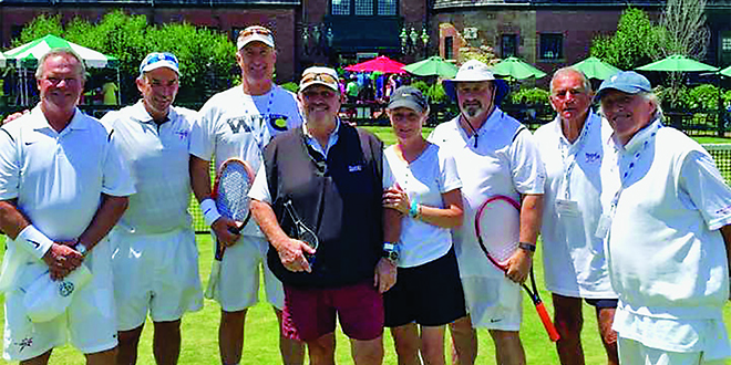 Submitted Photo:Tennis professional Howie Burnett was recently elected to the 2016 class of the New EnglandProfessional Tennis Association Hall of Fame.