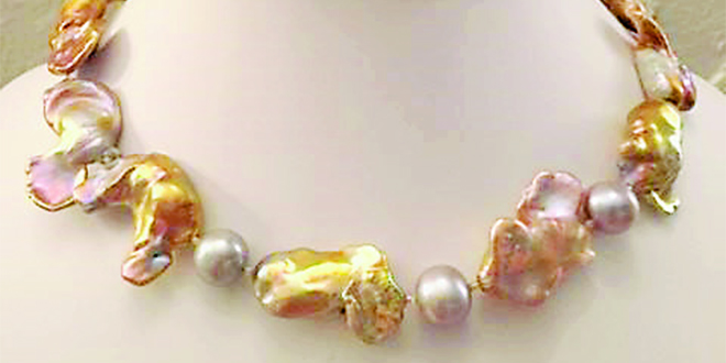 Submitted Photo:Pearl necklace by Linda Osika.