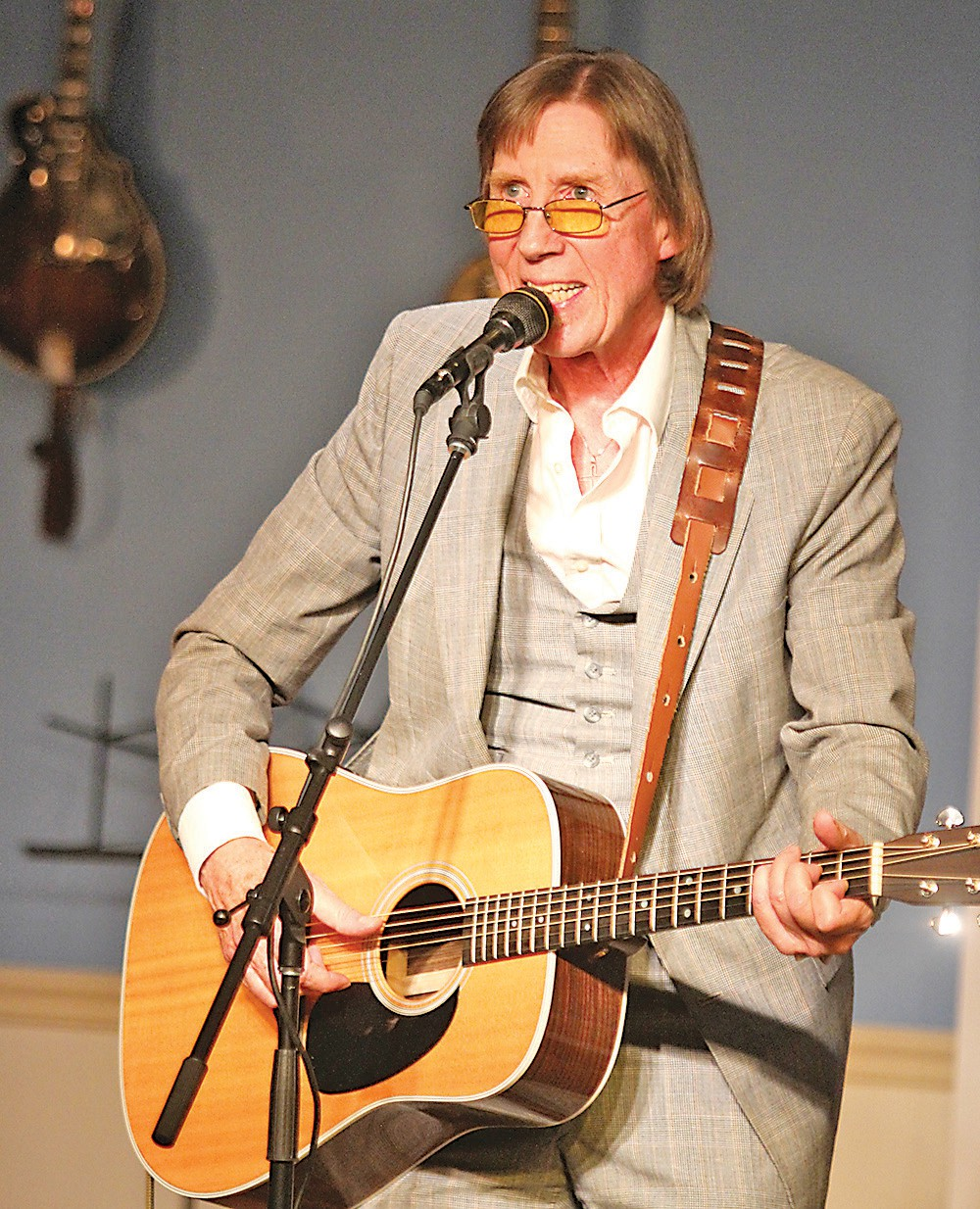 Austin Church, who performed in the Florida Songwriter Showcase, has written songs for Jimmy Buffett and Lyle Lovett.