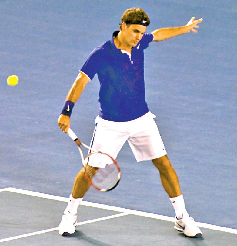 Roger Federer has won an impressive 18 Grand Slams. Submitted Photo